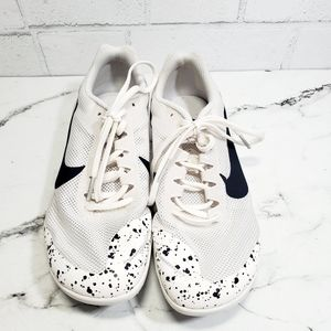 Nike Shoes - Nike Zoom Rival D White Racing Spikes